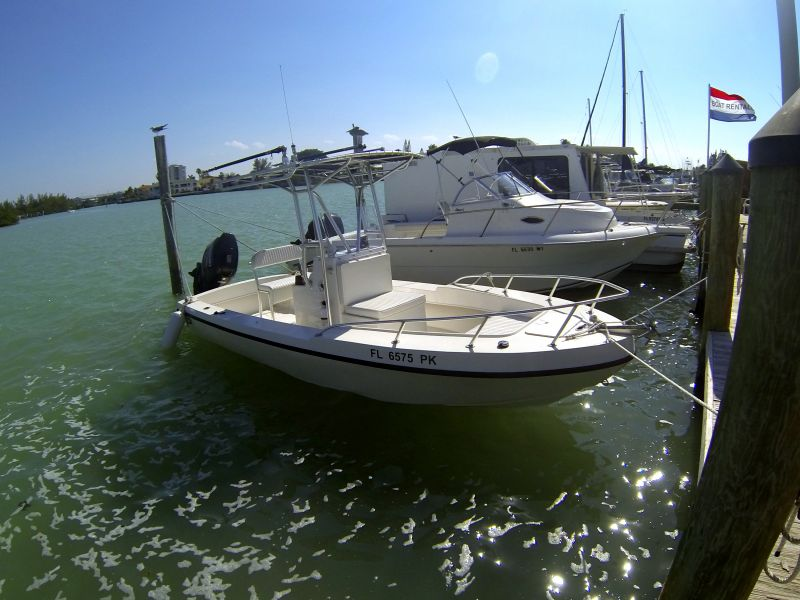 22ft Dusky Center Console #4 Rental Boat