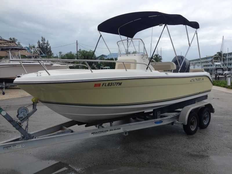 20ft Cobia Center Console Rental Boat