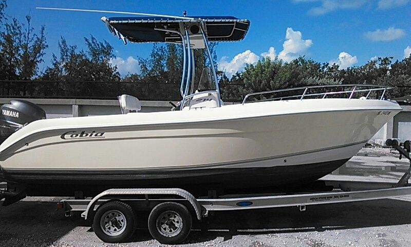 22ft Cobia Center Console Rental Boat