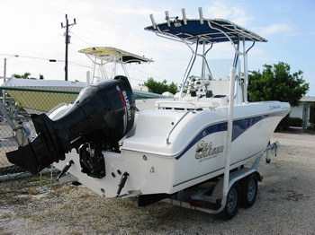 22ft Sea Chaser #7 Rental Boat