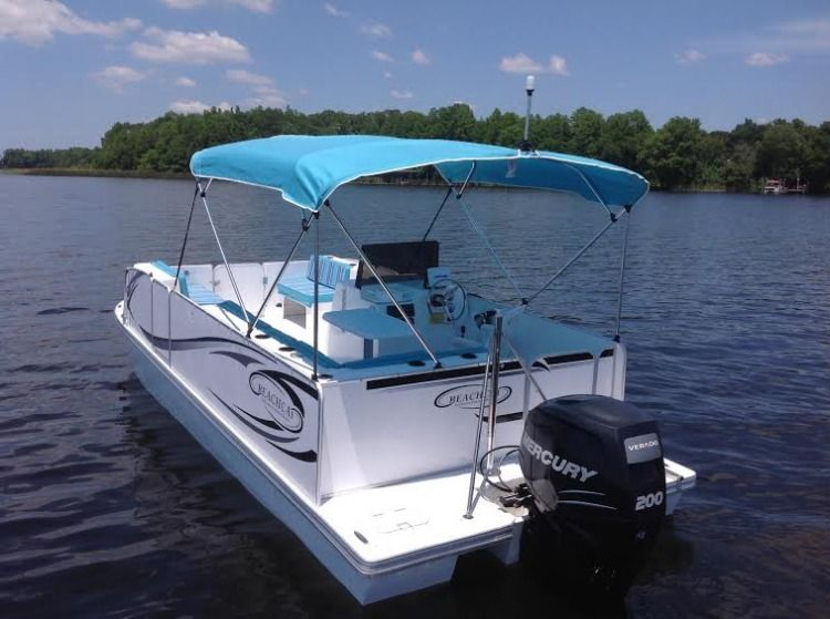 20ft BeachCat #1 Rental Boat
