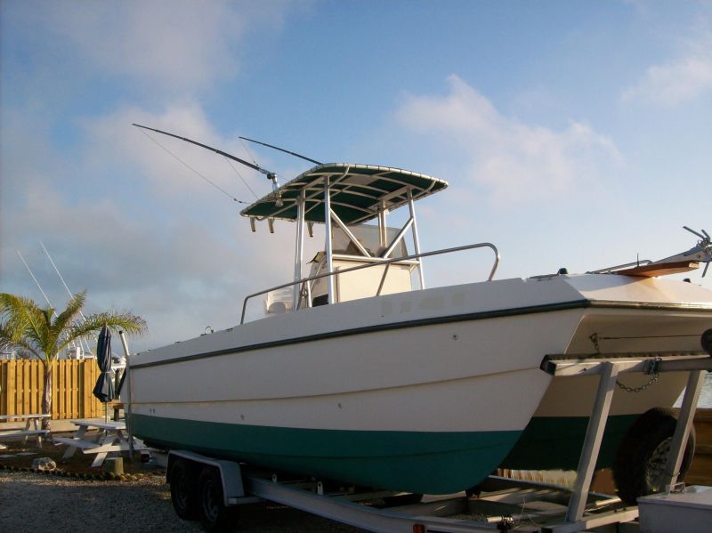 26ft SeaCat Rental Boat