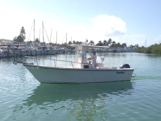 24ft Parker Center Console Rental Boat