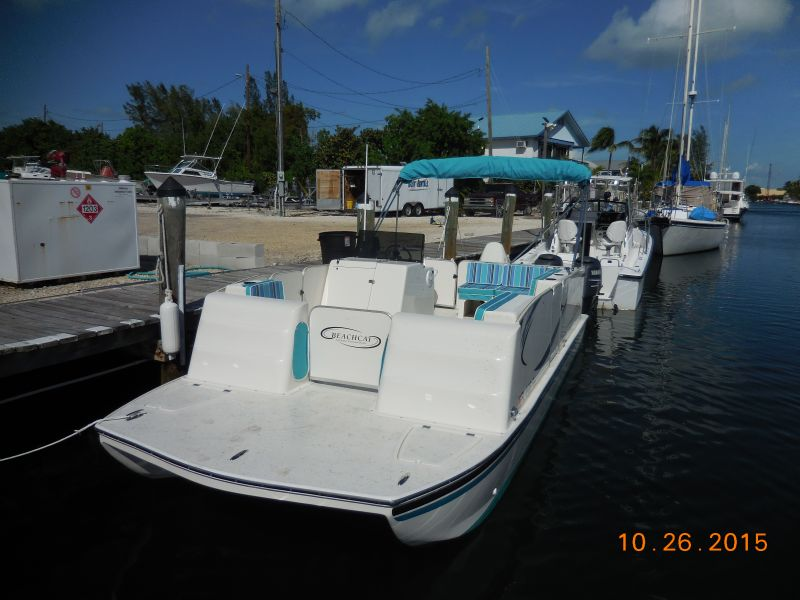 20ft BeachCat #1 AA Rental Boat