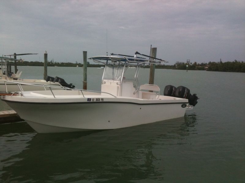 25ft Dusky #1 Rental Boat