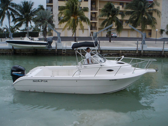 Cuddy cabin fishing boats for Best small cabin boats