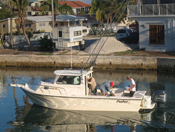27ft 6in Parker 2520 XL Rental Boat