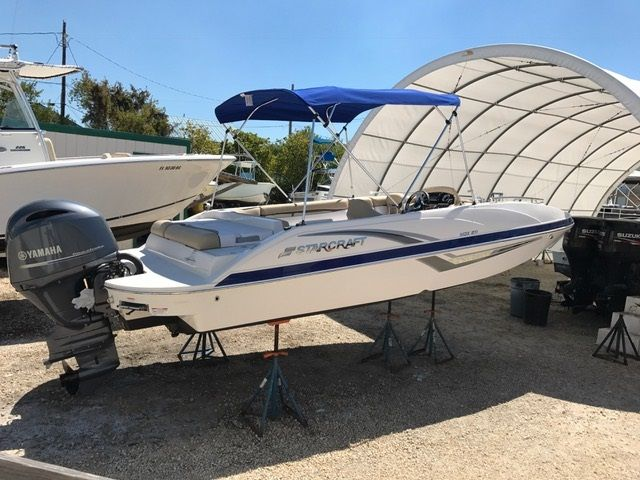 21ft Starcraft Deck #1 Rental Boat